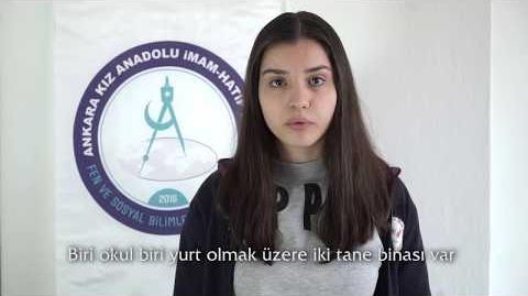 Ankara Kız Anadolu İmam Hatip Lisesi Fen ve Sosyal Bilimler Proje Okulu-1