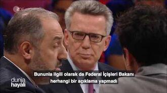 """Yeneroğlu'ndan Alman İçişleri Bakanına PKK örneğinde """"Saygı"""" hatırlatması"""