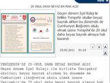 Yenişehir'de 20 Okul Daha Beyaz Bayrak Aldı
