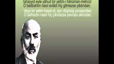 İstiğrak - Mehmet Akif Ersoy - Safahat