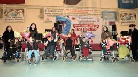 Dünya Engelliler Haftası Programı