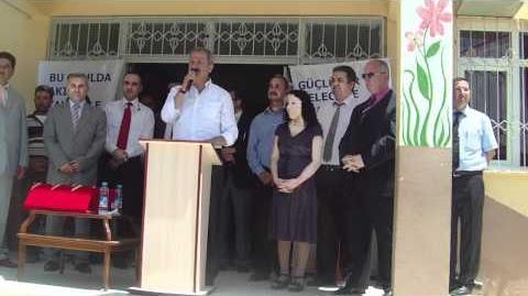 KARAHACILI Köyü İlköğterim Okulu Akıllı Tahta Açılışı 25.05