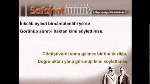 Süleymaniye kürsüsünde 3 - mehmet akif ersoy - safahat