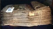 Halife Osman'a ait Kur'an'ın 9 yy. kopyası, Taşkent