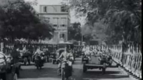 King Farouk opens parliament 1951 الملك فاروق يفتتح اخر دوره برلمانيه