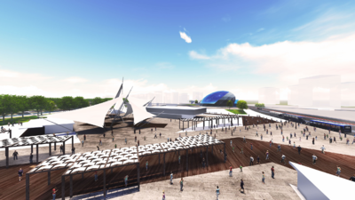 Müftü deresi uzay çatı projesi İDEAS