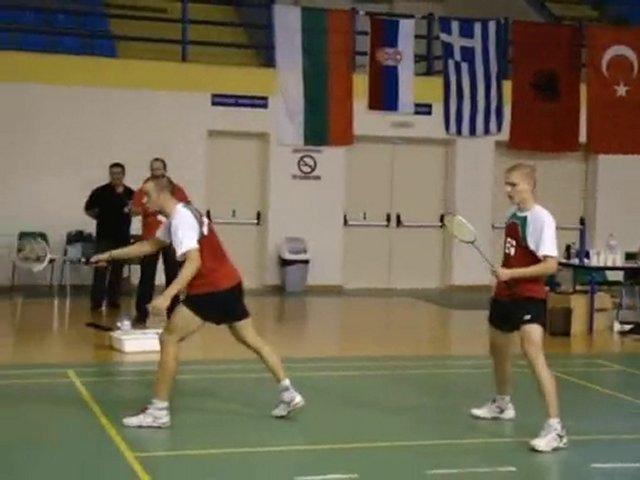 Balkan Badminton Şampiyonası Oretiada Yunanistan