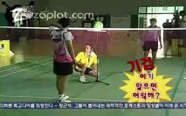 Karpuz badminton topu ile parçalanır mı