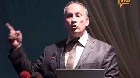 Bursa KALDER Sertifika töreni - Vali Yardımcısı Eyüp Sabri Kartalın konuşmaları