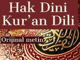 ORİJİNAL PDF ELMALI TEFSİRİ