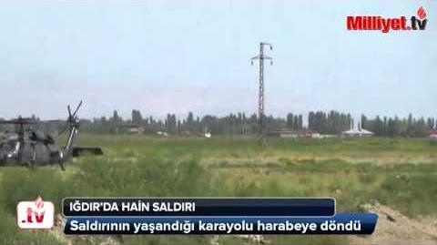 Iğdır'daki saldırıda Abdullah Gül'ün koruması da şehit oldu