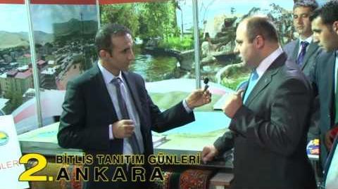Bitlis Tanıtım Günlerinde Güroymak Kaymakamlığı 13 - 16 Kasım 2014 Ankara