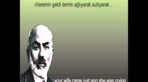 Köse imam - mehmet akif ersoy - safahat - yusuf ziya özkan-0