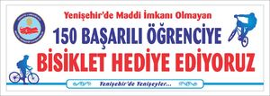 Yenişehir bisiklet afişi