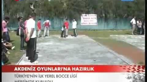Yenişehir bocce ligi - TRT Haber - Türkiye'nin ilk bocce ligi Kaymakam Eyup Sabri Kartal