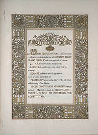 Hindistan anayasası
