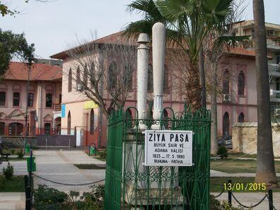 Ziya Paşa Büyük Şair ve Adana Valisi (Mezarı) Adana'da