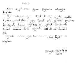 Zübeyde Yiğit 8/A