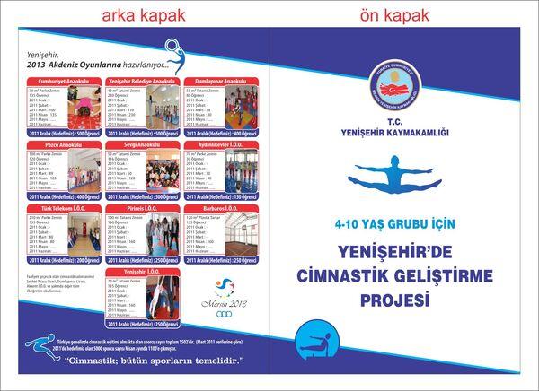 Yenişehir'de cimnastik geliştirme projesi davetiyesi