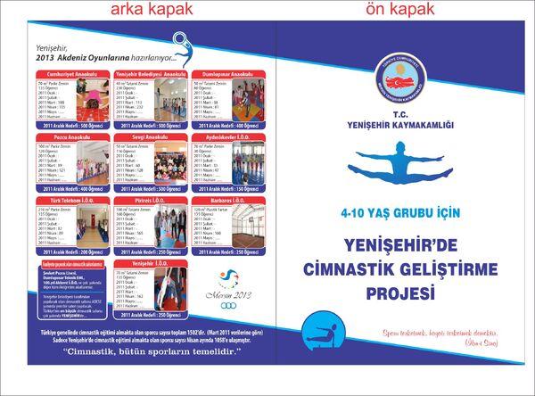 Yenişehir cimnastik geliştirme projesi davetiye