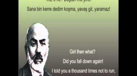 Hürriyet Şiiri - Mehmet Akif Ersoy - Safahat