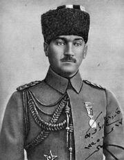 Atatürk 9. ordu müfettişi 17 Nisan 1919