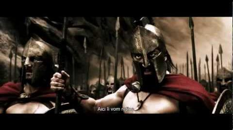 300 - First Battle Scene - Full HD 1080p - Earthquake. No Captain, Battle Formations..