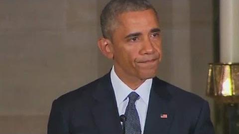 Obama tears up remembering Beau Biden