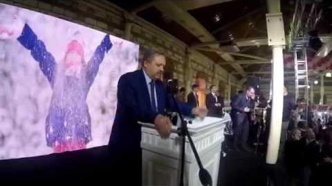 Vali Süleyman Kahraman, Feshane açılış töreni konuşması