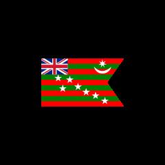 İngiliz mandası altındaki Hindistan bayrağı