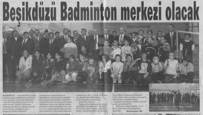 Bd badminton merkezi olacak