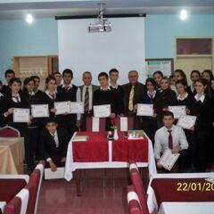 Yüksek Okul Müdürü öğrencilerimizle