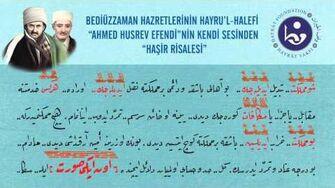 Ahmed Husrev Altınbaşak Efendi'nin Sesinden Haşir Risalesi-0