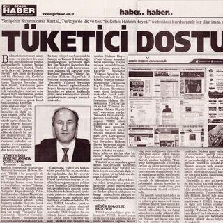 Özgür Haber Gazetesi:Tüketici Dostu