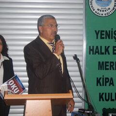 Açılışta İlçe Milli Eğitim Müdürümüz Ahmet SARI Konuşmasını Yaparken