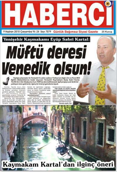 Haberci Gazetesi haberi 09 Haziran 2010