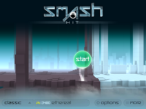 Smash Hit Classic Mode Main Menu