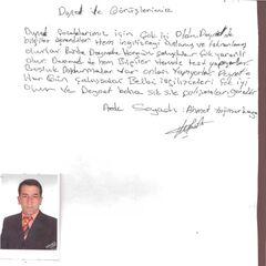 Ahmet Yağmurkaya Öğrenci Velisi
