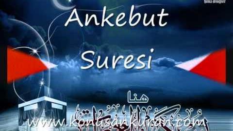 Ankebut Suresi - Konuşan Kuran-ı Kerim-029 (Arapça - Türkçe) www.konusankuran