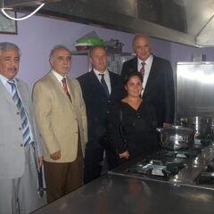 Proje Kapsamında oluşturlan aşçılık sınıfı