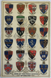 Arms Of The Public Schools Of England