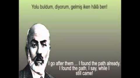 Seyfi Baba - Mehmet Akif Ersoy - Safahat