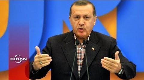 Erdoğan'ın cadı avı açıklaması