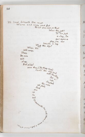 Alice's Adventures Under Ground - Lewis Carroll - British Library Add MS 46700 f15v