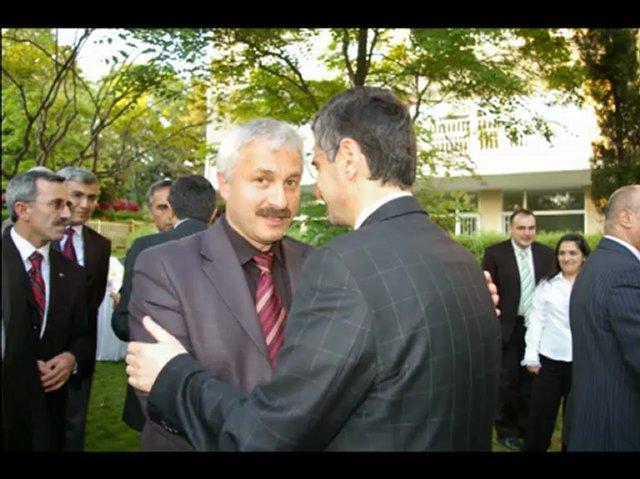 Kastamonu Valisi Erdoğan Bektaş' ın Üsküdar Kaymakamlığına vedası-0