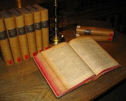 Latin dictionary