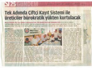 Zaman gazetesi 10 Haziran 2009