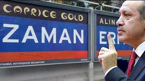 """Başbakan'dan Zaman Gazetesi'ne """"EDEPLİ OL!"""""""