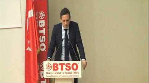 BTSO Başkanı İbrahim Burkay Eğitim Günleri - Mesleki Eğitimde çağdaş yaklaşaımlar