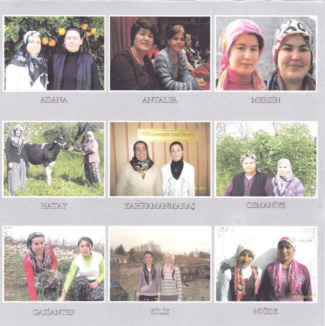 Kadın çiftçiler bölge finali 2010